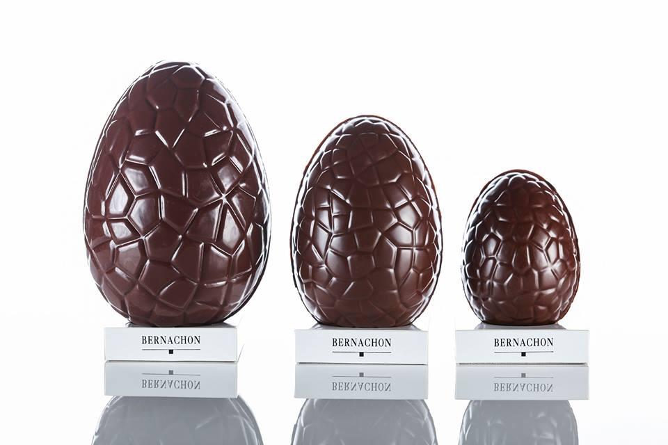 chocolats de Pâques Bernachon oeuf