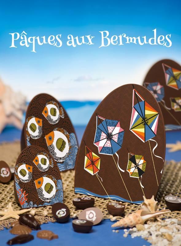 chocolats de Pâques maison Richart Bermudes